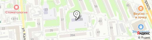 Детский сад №45 на карте Иваново