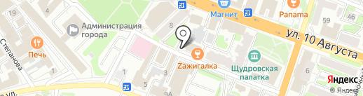 Архитектурно-строительное бюро Барова на карте Иваново