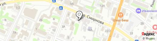 Афина-тур на карте Иваново