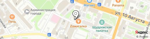 Школа танцев на карте Иваново