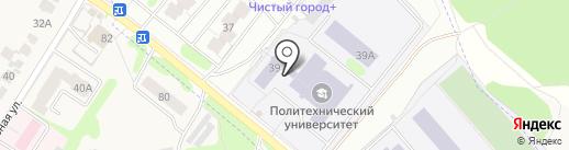 Институт непрерывного профессионального образования на карте Иваново