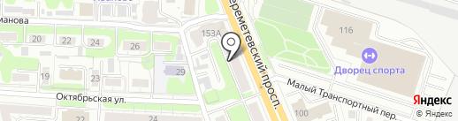 Строительный крепеж на карте Иваново