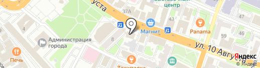 Городское бюро недвижимости на карте Иваново
