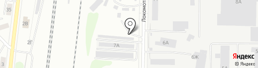 Костромет на карте Костромы