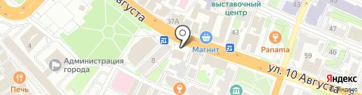 Кафе-шашлычная на карте Иваново