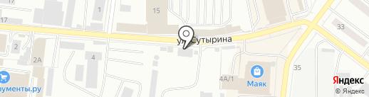 Дорожное хозяйство, МБУ на карте Костромы