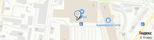 Гамма на карте Костромы