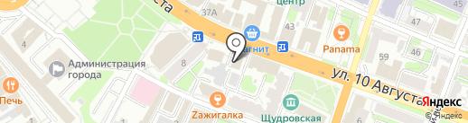 МПМ Cтрой на карте Иваново