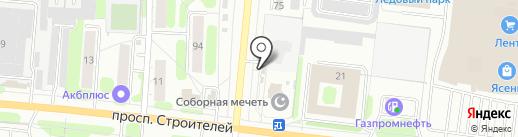 Индюшкин на карте Иваново