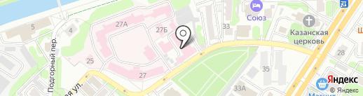 Ивановская текстильная компания на карте Иваново
