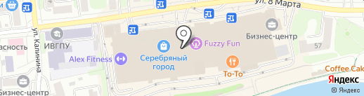 Джелато Шоколато на карте Иваново