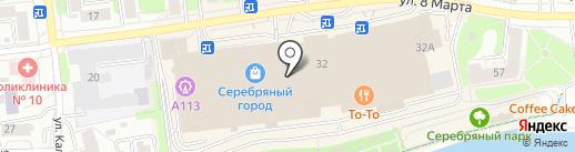 Магазин аксессуаров и кожгалантереи на карте Иваново