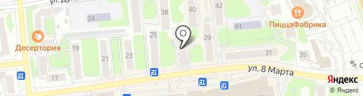 Аспект на карте Иваново