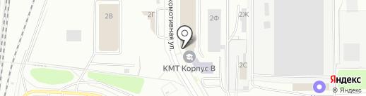 БСС-Кострома на карте Костромы
