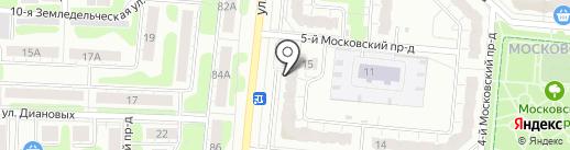 Стоматологический центр доктора Метельского на карте Иваново