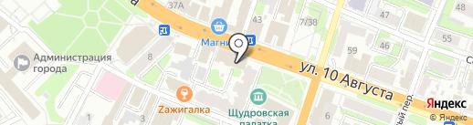 Твоё время на карте Иваново