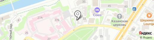 Институт развития на карте Иваново