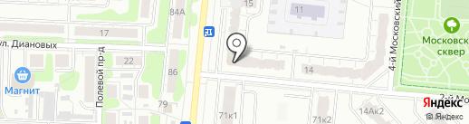 Радуга на карте Иваново