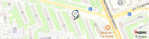 Академия Салонного Сервиса на карте Иваново
