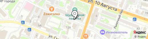 Центр защиты прав граждан Справедливая Россия на карте Иваново