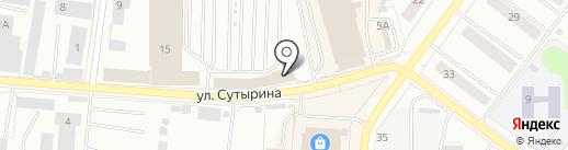 Сел-поехал на карте Костромы