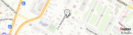 Почтовое отделение №8 на карте Иваново