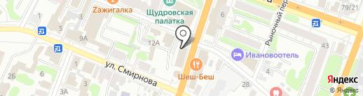 СТС на карте Иваново