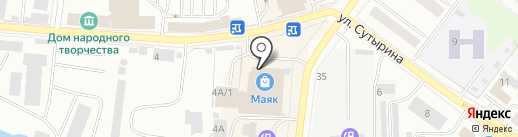 Маяк на карте Костромы