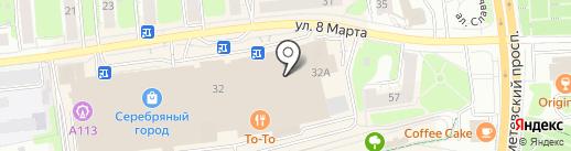 Ягуар на карте Иваново
