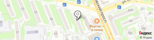 Эгида на карте Иваново