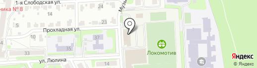 Ивановская областная федерация футбола на карте Иваново