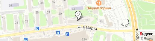 Церковная лавка на карте Иваново