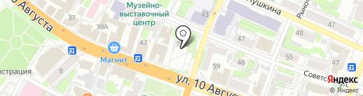 Panorama на карте Иваново
