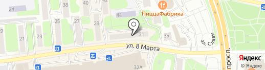 Pandora tattoo-box на карте Иваново