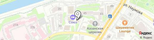 Союз на карте Иваново