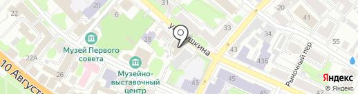 Восторг на карте Иваново