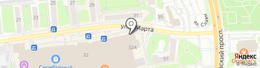 Ив-стар на карте Иваново
