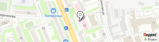 Антураж на карте Иваново