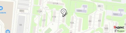 ТСЖ работников госторговли на карте Иваново