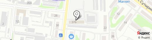 КостромаКровля на карте Костромы