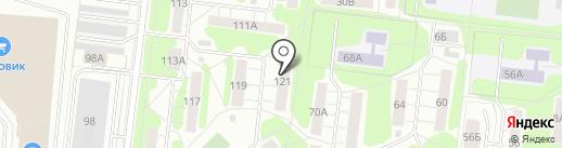 Работников госторговли, ТСЖ на карте Иваново