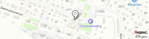 Синий кот на карте Иваново