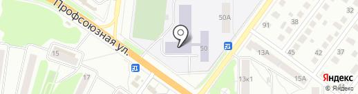 Костромской строительный техникум на карте Костромы