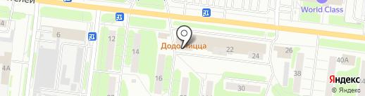 Белорусская косметика на карте Иваново
