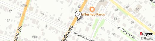 Текстиль-сити на карте Иваново