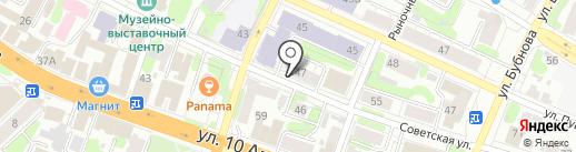 Волшебные руки на карте Иваново