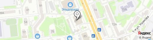 Баловень на карте Иваново