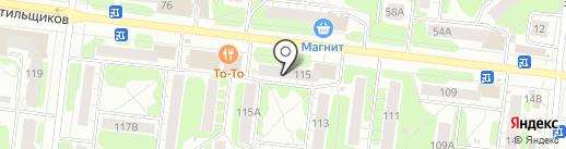 Город невест на карте Иваново