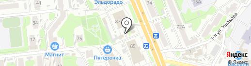Ремонтная мастерская на карте Иваново