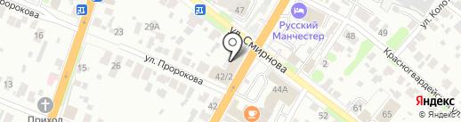 Ивановский центр информационных технологий на карте Иваново